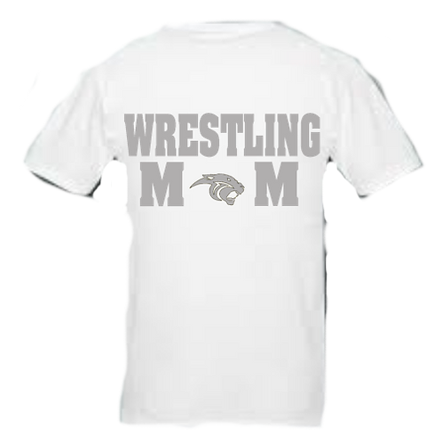 Wrestling Mom Ring Spun Cotton