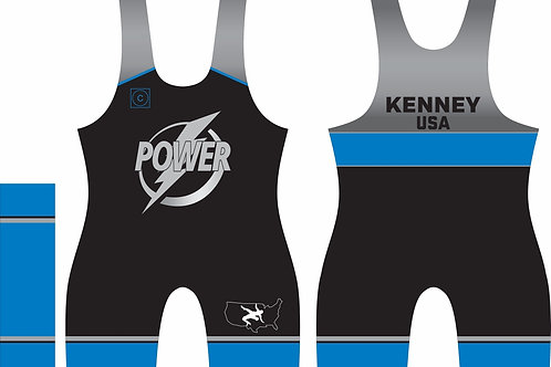 2021 Power Wrestling Club Freestyle Singlets