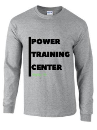 Power Training Center Long Sleeve