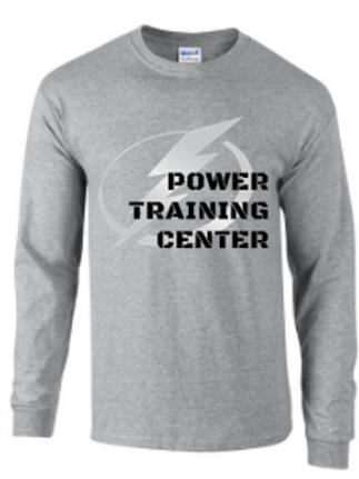 Power Training Center Bolt Long Sleeve