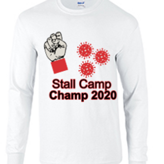Long Sleeve Corona Virus Stall Champ