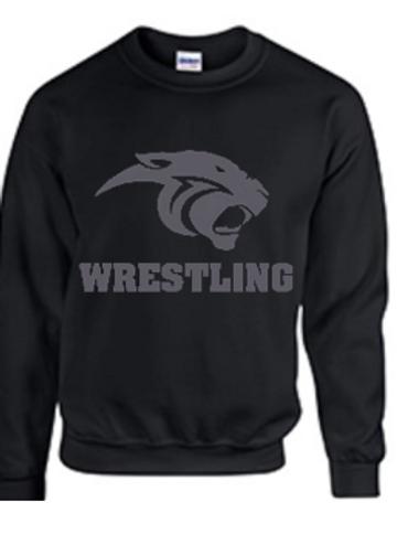 Panther Head Crew Sweatshirt
