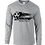 Thumbnail: Long Sleeve 50-50 Ring Spun Soccer Ball Logo