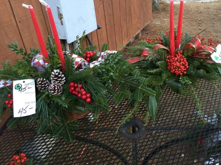 Candle Table Arrangement