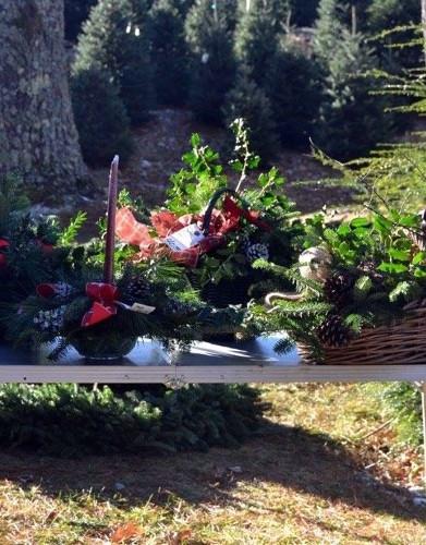 Arrangement Table at the Farm