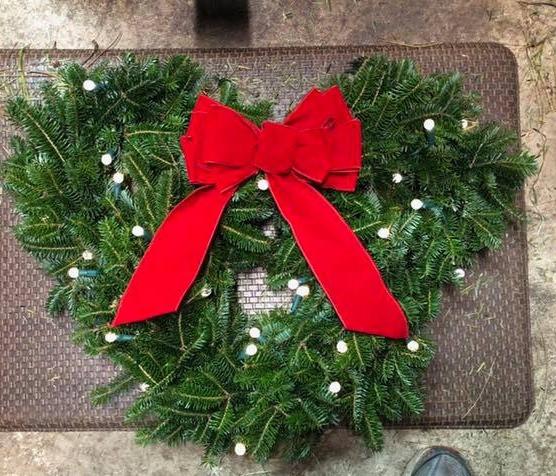 Custom Mickey Mouse Wreath