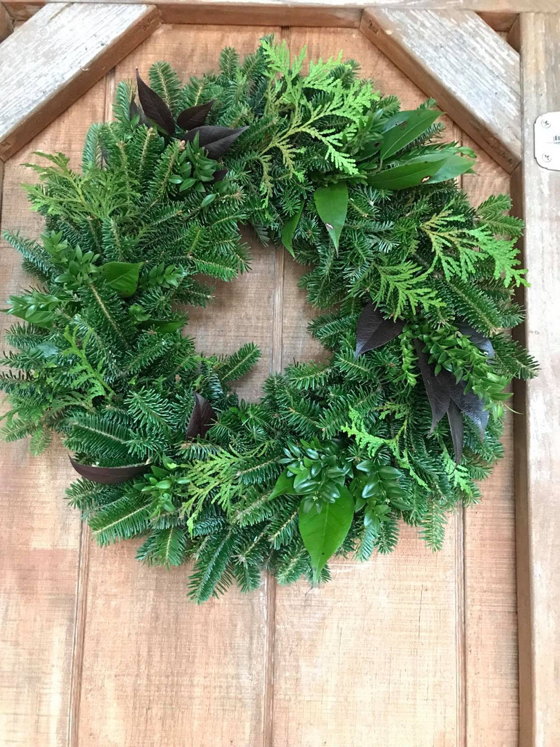 Mixed Material Wreath