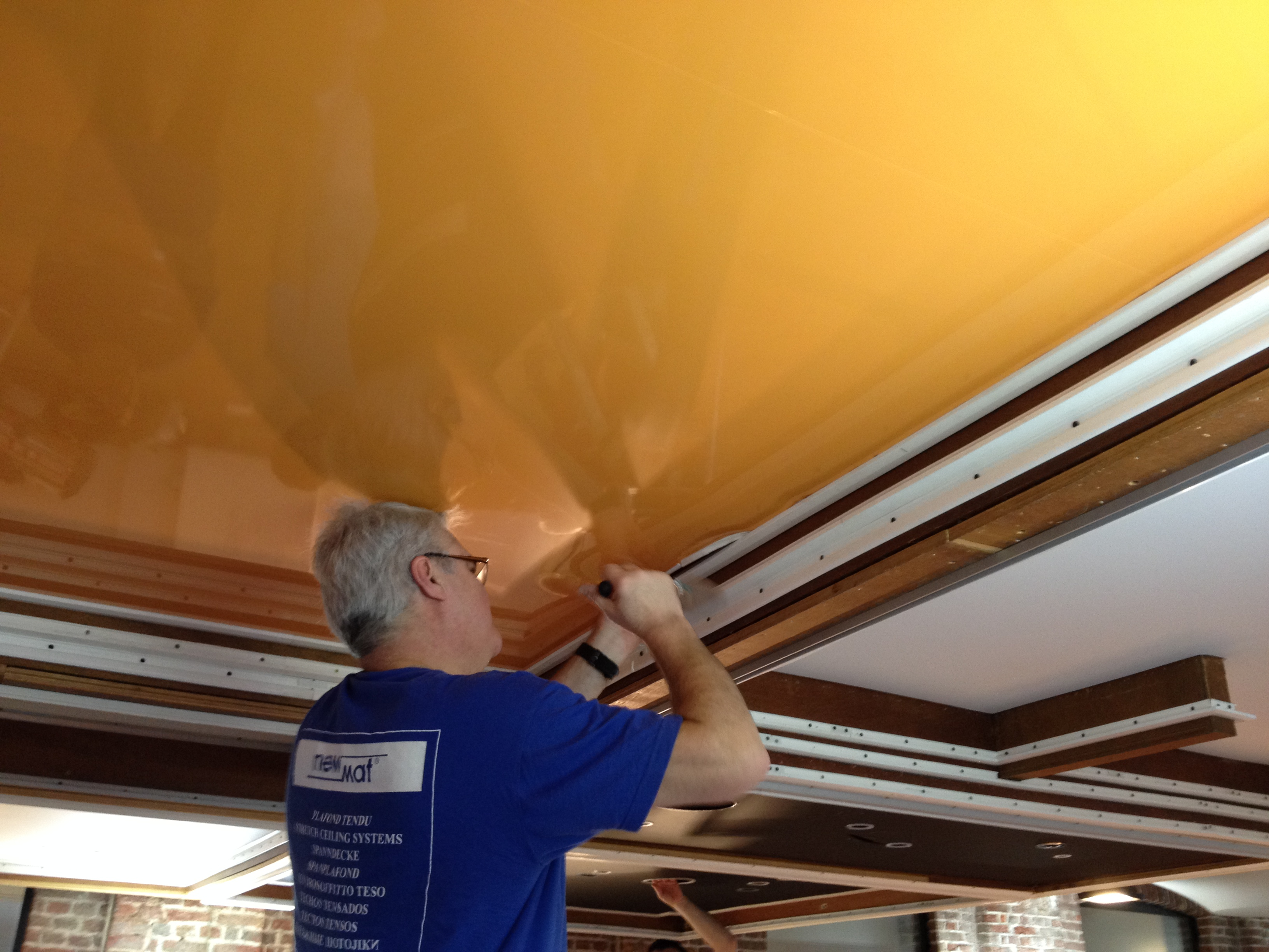 spanplafond plaatsen