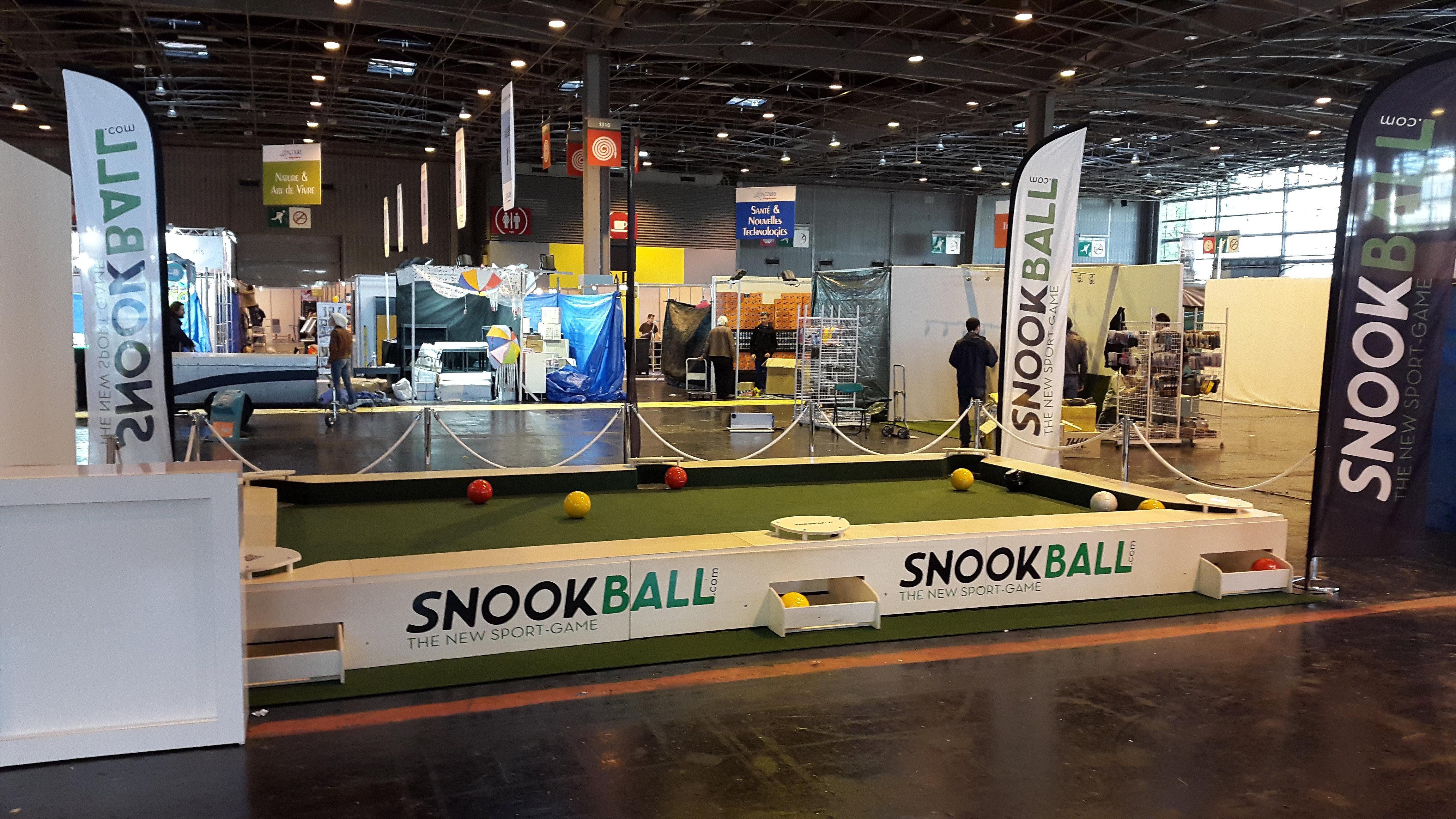 Snookball foire de paris - Foire de paris 2016 exposant ...