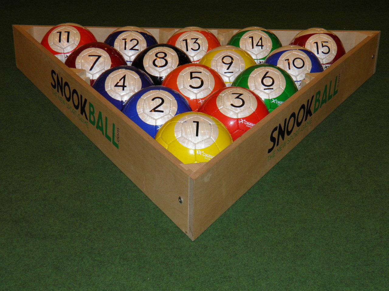 jeu de la 8 (15 ballons)