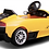 Thumbnail: LAMBORGHINI YELLOW Ride On Car with Remote Control