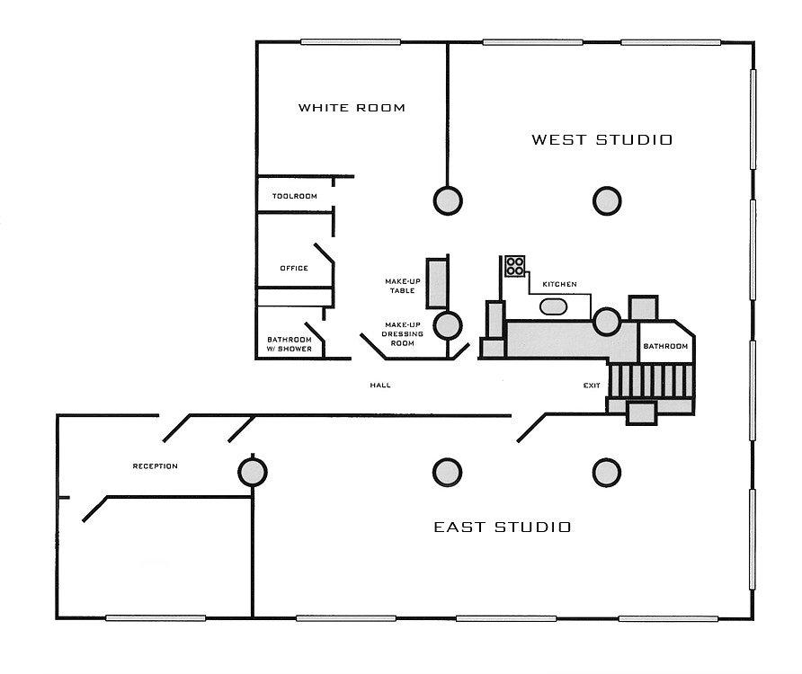 thumbnail view of studio floor plan
