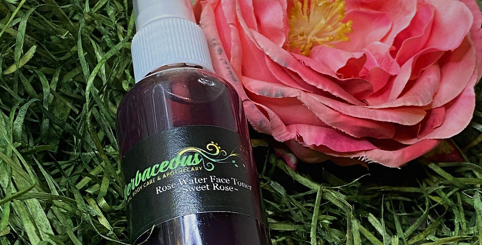 · Rose Water Face Toner | Sweet Rose ·
