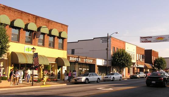 Downtown Shops Left