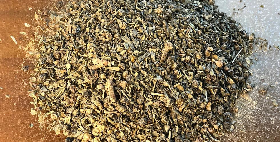 · Elderberry Green Herbal Tea ·