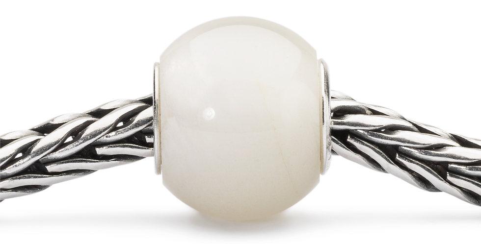 Round White Moonstone
