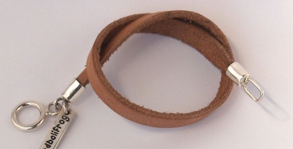 Tan Leather Strap Bracelet