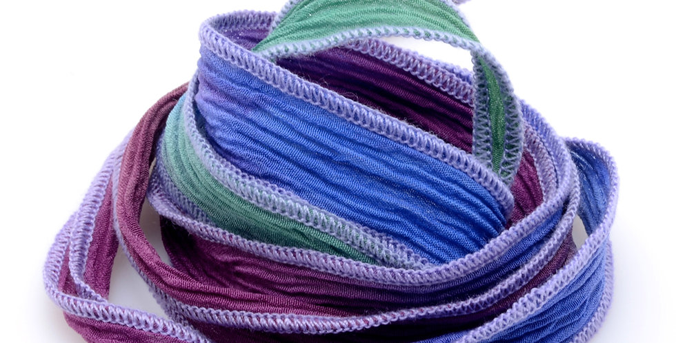 Ocean Rainbow Silk Wrap