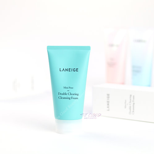 LANEIGE - DOUBLE CLEARING CLEANSING FOAM