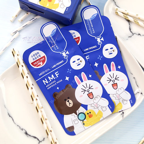 MEDIHEAL N.M.F AQUARING AMPOULE MASK - LIMITED LINE FRIEND