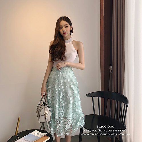 SPECIAL 3D FLOWER SKIRT (SKIRT ONLY) - AFF