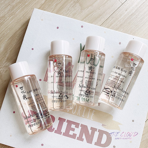 SET CHAI MINI SIZE SULWHASOO GENTLE CLEANSING WATER