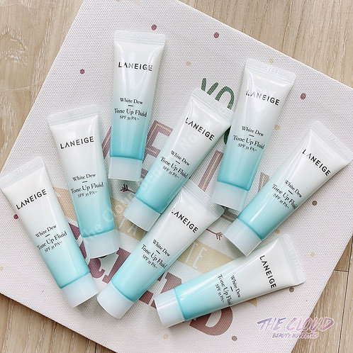 MINI SIZE LANEIGE WHITE DEW TONE UP FLUID - SPF 35++