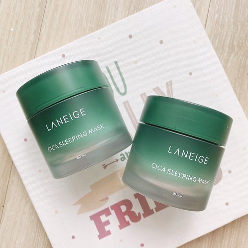 LANEIGE CICA SLEEPING MASK - MẶT NẠ NGỦ NẤM MEN RỪNG
