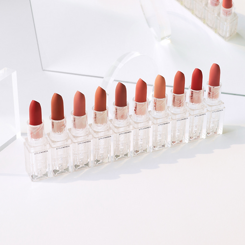 3CE SOFT MATTE CLEAR LAYER EDITION LIPSTICK