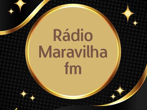 JA ESTA NO AR A RÁDIO MARAVILHA FM TRAZENDO EM SUA PROGRAMAÇÃO MÚSICAS DE ARISTAS LOCAIS...