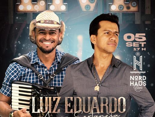 O CANTOR LUIZ ADUARDO ESTARÁ AMANHÃ DIA 05/09/21 APARTIR DE 17 HORAS AO VIVO NA RÁDIO GUARU