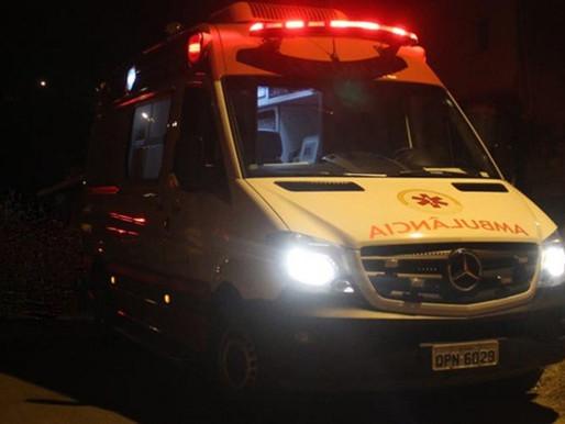 BR 163: colisão frontal entre carro e moto deixa jovem ferido; condutor fugiu do localMaruhan Franç