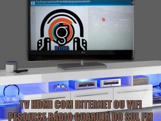 AGORA TAMBEM COM PLATAFORMA DIGITAL PARA VOCÊ OUVIR A RÁDIO GUARUJÁ DO SUL FM EM SUA TV HDMI...