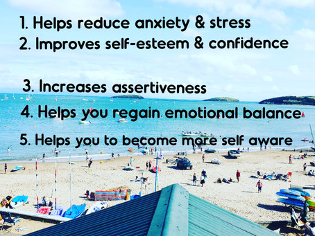 What are the benefits from counselling?