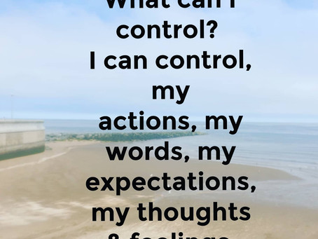 What we can & can't control?