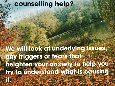 Counselling & anxiety