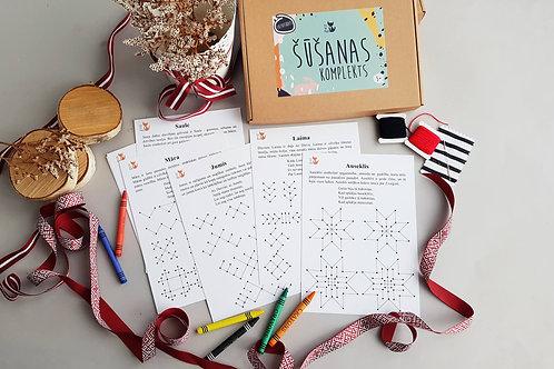 Etnographic sewing craft kit