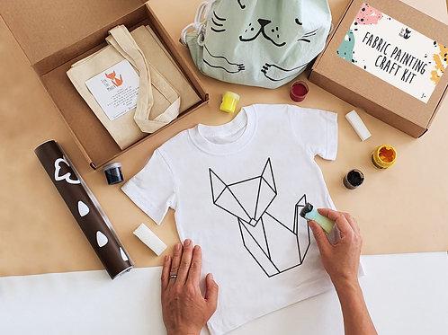 Fox The Maker stencil painting kit