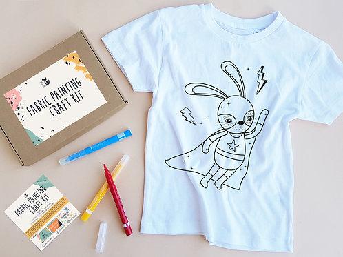 Superrabit coloring t-shirt
