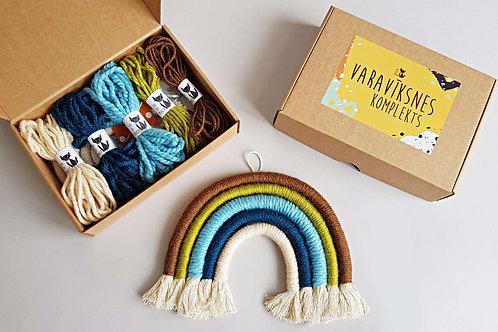 NATURE Rainbow wall hanging DIY craft kit