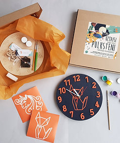 Clock making craft kit