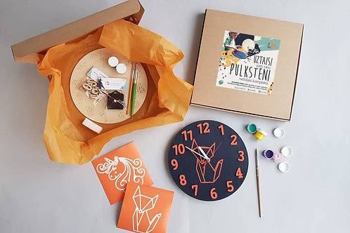 Clock making craft kit