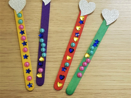 DIY wooden bookmarks in 10 minutes