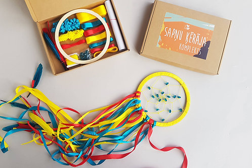 COLORFUL dream catcher kit