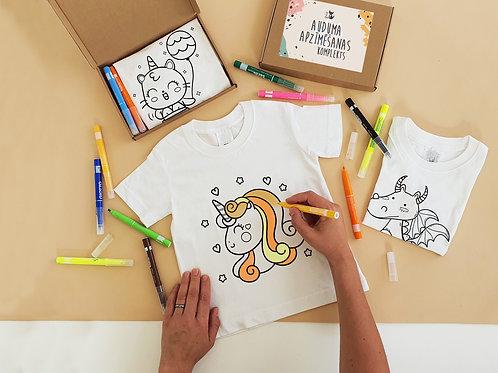 Unicorn coloring t-shirt