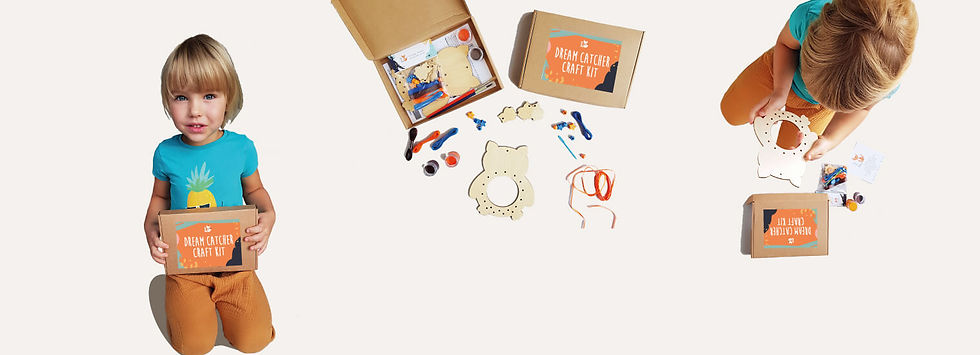 Fox The Maker craft kits_radosie komplek