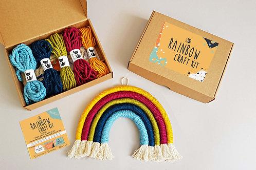 HARVEST Rainbow wall hanging DIY craft kit