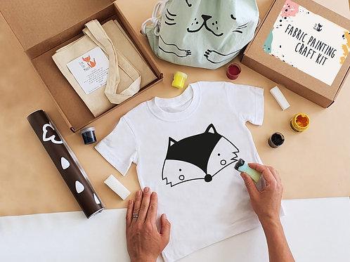 Fox stencil painting kit