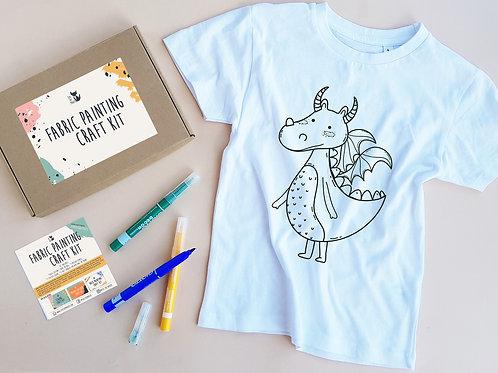 Dragon coloring t-shirt