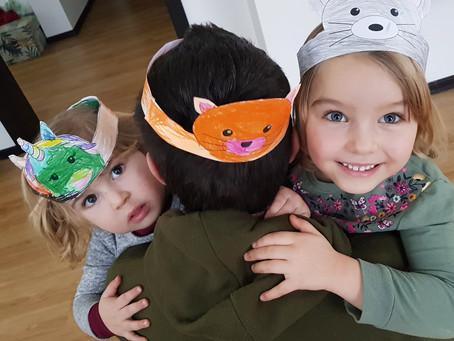 Bērns vēlas sev masku?